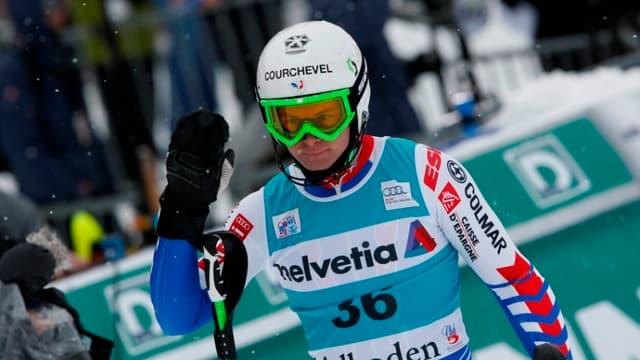Pour 14 centièmes seulement, Alexis Pinturault est privé de podium à Wengen.