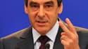 """A Tokyo, le Premier ministre français François Fillon a fait pour la première fois usage du terme de """"rigueur"""" en évoquant la politique de maîtrise des déficits de son gouvernement. /Photo d'archives/REUTERS/Philippe Wojazer"""