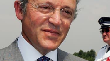 Le marchand d'art franco-américain Guy Wildenstein, le 4 juillet 2006.
