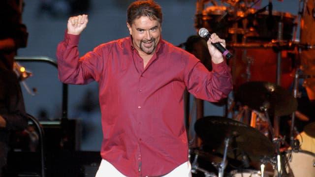 Eric Morena en 2003, en concert à Paris