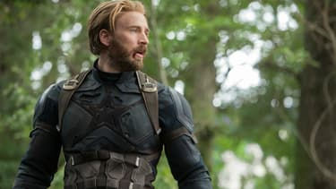 Chris Evans Dans Avengers Infinity War