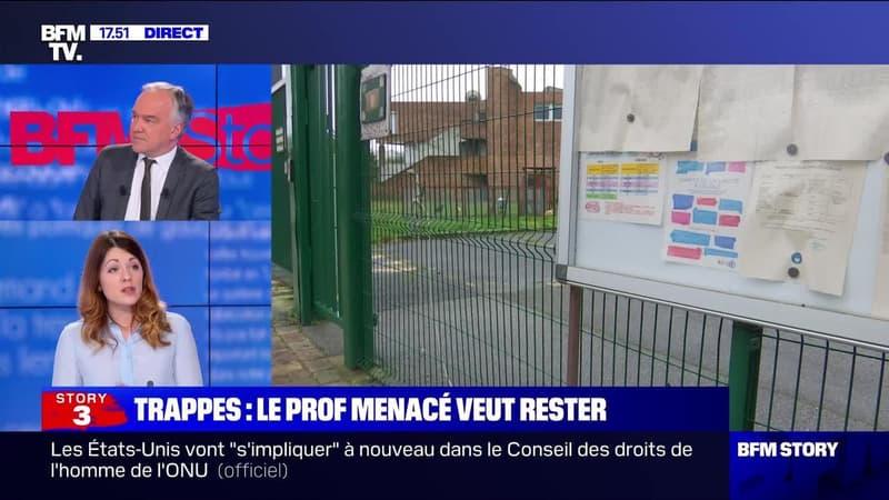 Story 3 : Le prof menacé veut rester à Trappes - 08/02