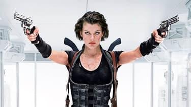 """Mill Jovovich dans """"Resident Evil"""""""