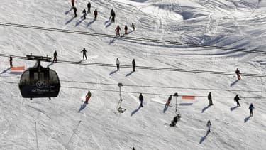 Les Français aiment leurs vacances au ski.