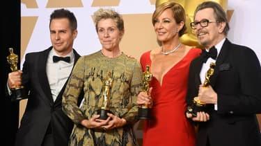 La 90ème cérémonie des Oscars à Los Angeles, le 4 mars 2018