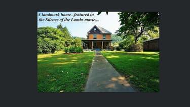 """La maison du """"Silence des agneaux"""" est à vendre."""