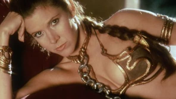 Le fameux bikini doré de Princesse Leïa