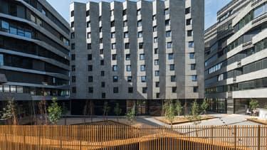 Les trois bâtiments lyonnais de l'ensemble Hikari constituent un première mondiale dans le domaine de l'efficacité énergétique.