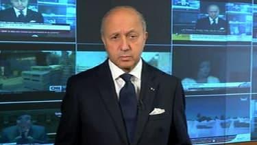 Laurent Fabius doit partir pour Tripoli en fin de matinée.
