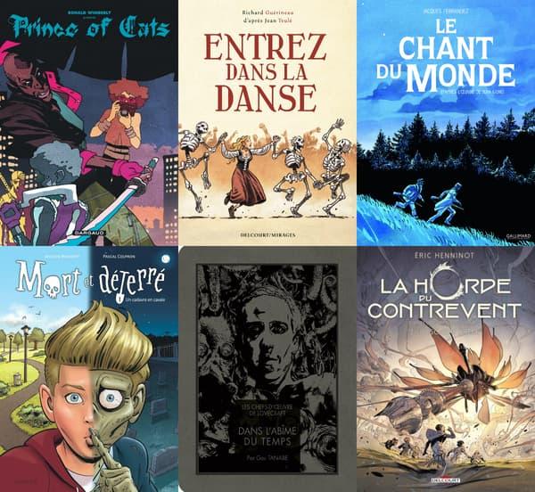 Quelques adaptations d'œuvres littéraires en BD