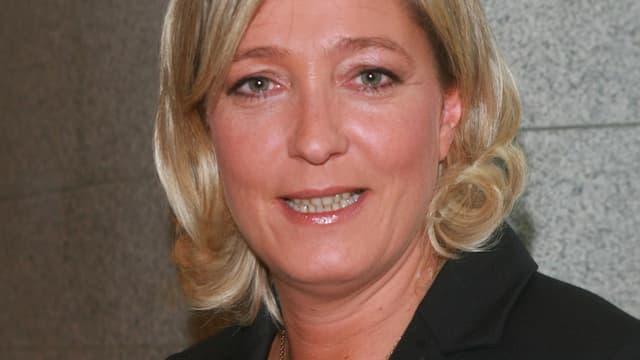 Marine Le Pen, Vice-présidente du FN, conseillère régionale du Nord-Pas-de-Calais et conseillère municipale d'Hénin-Beaumont