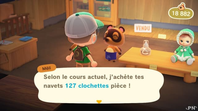 Animal Crossing, New Horizons, est disponible depuis le 25 mars.
