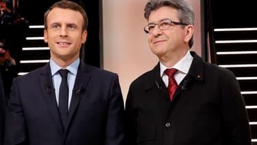 Les syndicats ont plébiscité les leaders d'En Marche! et de la France insoumise