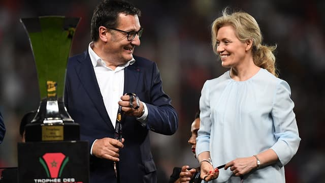 Didier Quillot et Nathalie Boy de la Tour