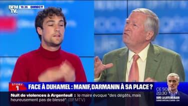 Face à Duhamel: Manif, Darmanin à sa place ? - 18/05