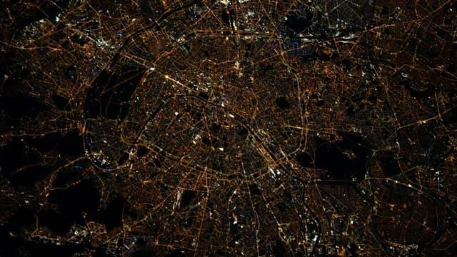 La capitale photographiée par Thomas Pesquet.