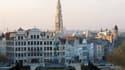 Vue du centre-ville de Bruxelles