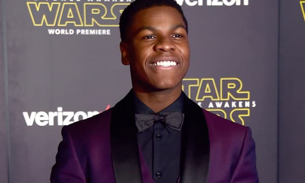 John Boyega le 14 décembre 2015 à Hollywood