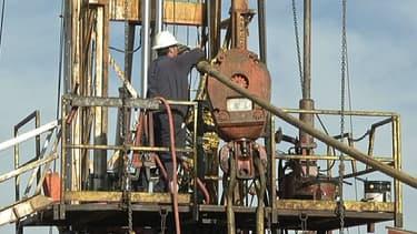Une exploitation de gaz de schiste (photo d'illustration)