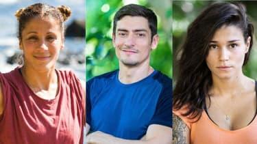 Naoil, Claude et Inès, finalistes de Koh-Lanta