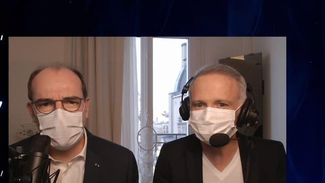 Jean Castex et Samuel Etienne sur Twitch ce dimanche.