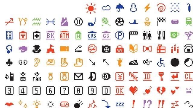 Les premiers emojis de l'Histoire.