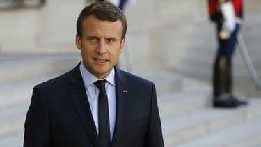 Emmanuel Macron 8 juin 2017 à Paris.