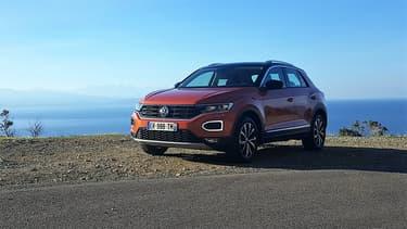 Le nouveau Volkswagen T-Roc, nouveau venu dans la bataille des SUV compact.