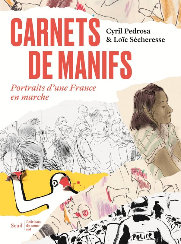 """""""Carnets de manifs"""", un album sur le mouvement des gilets jaunes"""