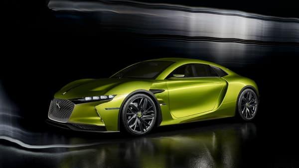 Le concept E-Tense préfigure aussi bien le style que la technologie d'un futur coupé sportif DS, un modèle qui aurait ses chances sur le marché américain.