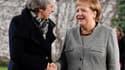 Theresa May et Angela Merkel le 11 décembre 2018 à Berlin