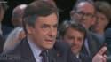"""François Fillon lors de l'émission """"Des paroles et des actes"""" jeudi 6 juin."""