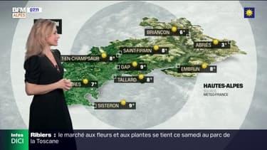 Météo: un temps ensoleillé ce samedi matin, quelques passages nuageux cet après-midi, jusqu'à 24°C à Sisteron