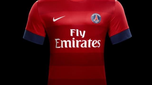 Le nouveau maillot du PSG