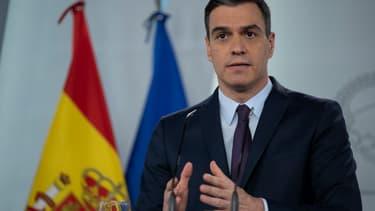 Pedro Sanchez le 2 mai 2020