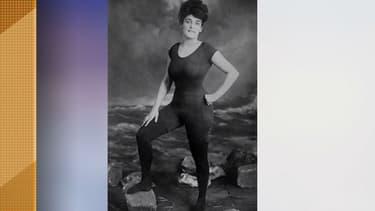 Annette Kellerman dans son tout premier maillot de bain une pièce