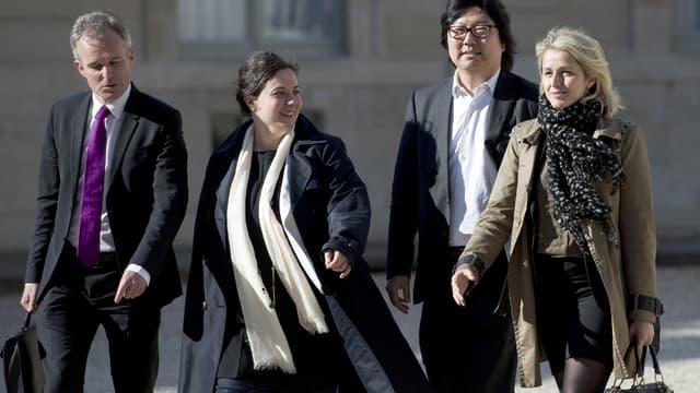 François de Rugy (à gauche), Jean-Vincent Placé et Barbara Pompili (à droite) ont été approchés pour rentrer au gouvernement.