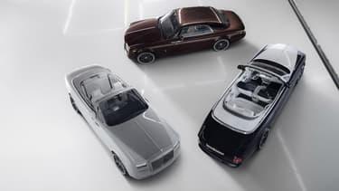 Rolls Royce sort une série spéciale Zenith pour la fin des modèles Phantom coupé et cabriolet.
