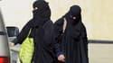 Des Saoudiennes en plein shopping à Riyad.