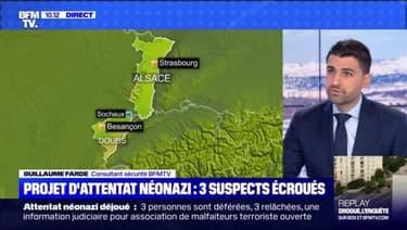 Projet d'attentat néonazi: 3 suspects écroués - 08/05