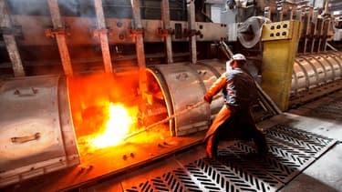 Un ouvrier de la métallurgie