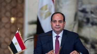 Le président égyptien Able Fattah Al-Sissi, le 11 décembre 2017/ Image d'illustration