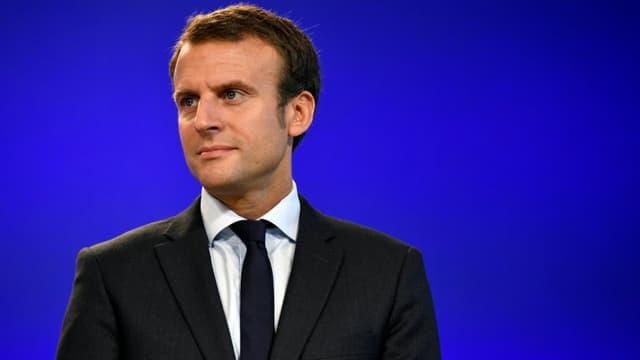 Philippe Lopez - AFP - Emmanuel Macron, le 31 août 2016.