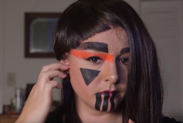 Ces techniques de maquillage permettent de rester incognito face à une caméra, moins face à un individu normalement constitué.