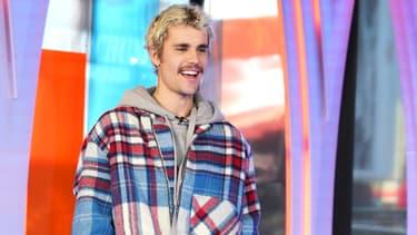 Justin Bieber début février 2020.