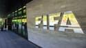 L'entrée du siège de la Fifa