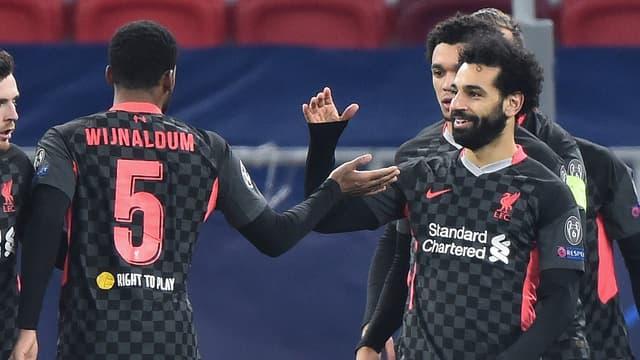 Mohamed Salah et les Reds ont profité des erreurs de la défense de Leipzig