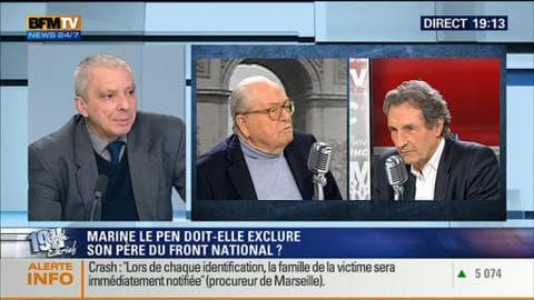 Jean-Yves Camus face à Ruth Elkrief
