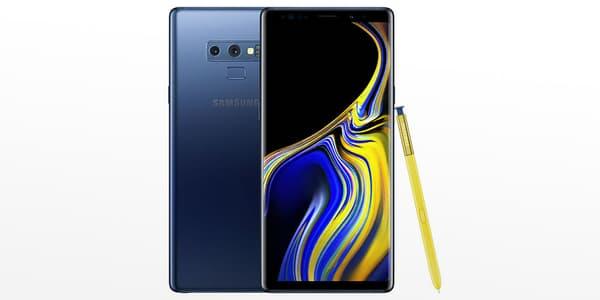 Le Samsung Galaxy Note 9