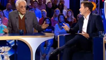 Gérard Darmon face à François-Xavier Bellamy dans ONPC